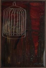 Sale 8901A - Lot 5089 - Joshua Bullen & Catherine Conciecao - Bird Cage Series No.5, 2006 90 x 60 cm