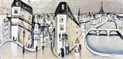 Sale 9072A - Lot 5018 - Mark Hanham (1978 - ) - La Paris 100 x 119 cm