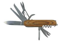 Sale 9220L - Lot 70 - Laguiole by Louis Thiers Pocket Knife - 10 functions