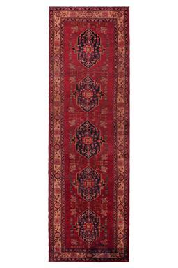 Sale 9185C - Lot 13 - PERSIAN HAMADAN, 125X395CM, HANDSPUN WOOL