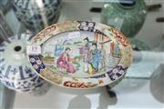 Sale 8339 - Lot 19 - Chinese Hand Painted Dish