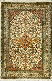 Sale 8353C - Lot 46 - Kashmiri Super Fine Silk 125cm x 81cm