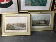 Sale 8776 - Lot 2006 - Pair of Coloured Engravings by F G Lewis