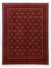 Sale 8760C - Lot 15 - An Afghan Persian Sarough Design , 390 x 299cm