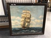 Sale 8833 - Lot 2045 - Nautical Framed Artwork