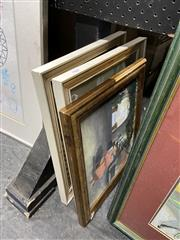 Sale 8878 - Lot 2084 - Four Paintings by Flora Pawle