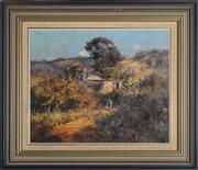 Sale 9055A - Lot 5009 - Kasey Sealy (1961 - ) - Jacks Place Sofala 36.5 x 44 cm (frame: 54 x 62 x 4 cm)