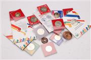 Sale 9057 - Lot 70 - Collection of Cased Coins and Medallions
