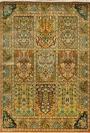 Sale 8353C - Lot 47 - Kashmiri Super Fine Silk 187cm x 128cm