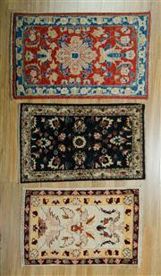 Sale 8657C - Lot 58 - 3 x Afghan Chobi Mats 87cm x 57cm
