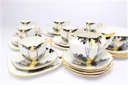 Sale 8689 - Lot 65 - Shelley Tea Service Circa 1920s (1 bowl A/F)