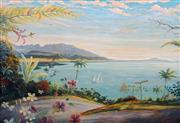 Sale 8738 - Lot 573 - Heinz Steinmann (1943 - ) - Johns Backyard, Port Douglas 83 x 121cm