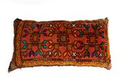 Sale 8715C - Lot 120 - A Persian Handmade Cushion, 100% Wool, 90 x 45cm