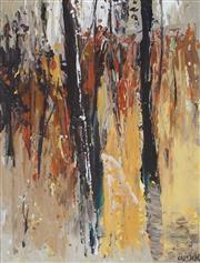 Sale 8847A - Lot 5014 - Cheryl Cusick - Bushfire, 2010 27 x 36