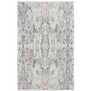 Sale 8912C - Lot 16 - Turkish Woven Mystique Collection 02 Carpet,, Silver/Blush, 200x300cm, Viscose/Acrylic