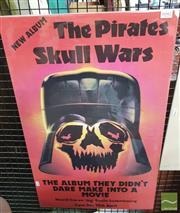 Sale 8421 - Lot 1042 - Vintage and Original The Pirates Promotional Poster (72.5cm x 44.5cm)