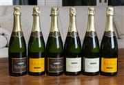 Sale 8694A - Lot 82 - Six bottles of assorted cremant De Bourgoine, Bailey Lappier
