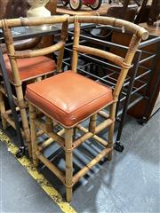 Sale 8896 - Lot 1027 - Pair Of Cane Stools