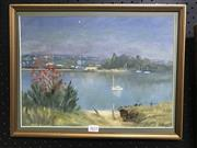 Sale 8981 - Lot 2022 - Mary Cullinan - Lane Cove River, on board, SLL 27x37cm