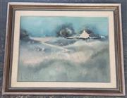 Sale 9041 - Lot 2060 - Anita Newman Misty Morn, Rocky Gleen oil on canvas board 50 x 61cm (frame) signed -