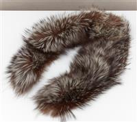 Sale 9080H - Lot 76 - A Russian silver fox fur collar, Length 101cm