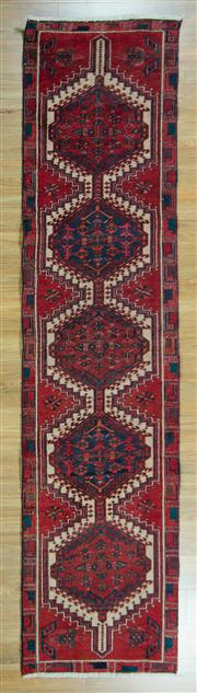 Sale 8657C - Lot 60 - Persian Shiraz 320cm x 76cm
