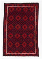 Sale 8780C - Lot 273 - An Afghan Hand Woven Kilim 100% Wool, 252 x 169cm