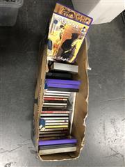 Sale 8789 - Lot 2324 - Box of DVDs, CDs, etc