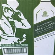 Sale 8801W - Lot 1 - 6x Johnnie Walker 15YO Green Label Scotch Whisky, 700ml