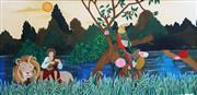 Sale 8867A - Lot 5023 - Loretta Coghlan - A Fantasy 32 x 64cm