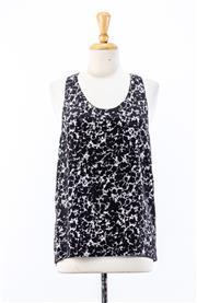 Sale 8891F - Lot 43 - An Alexander Wang printed silk singlet, size small