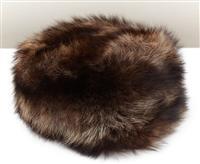 Sale 9080H - Lot 75 - A Russian winter bear hat