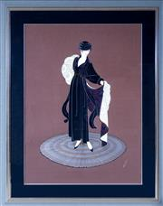 Sale 8593A - Lot 30 - Erté - Winter in Paris 89 x 65cm