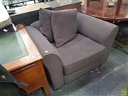 Sale 8601 - Lot 1344 - Fabric Lounge Chair
