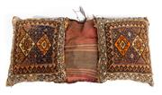 Sale 8715C - Lot 36 - A Persian Handmade Cushion, 100% Wool, 110 x 60cm