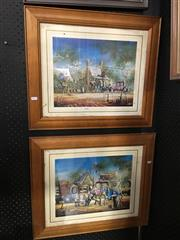 Sale 8726 - Lot 2050 - Two Max Mannix Prints