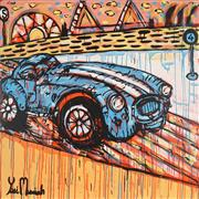 Sale 8853A - Lot 5035 - Yosi Messiah (1964 - ) - Harbour Racer 102 x 102cm