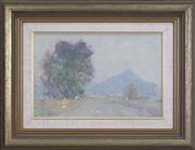 Sale 8342A - Lot 306 - Allan Hansen (1911 - 2000) - Misty Day 20 x 30cm