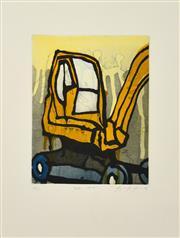 Sale 8347A - Lot 18 - Jasper Knight (1978 - ) - Baby Crane, 2009 25 x 19.5cm ( 53 x 43cm, frame size)