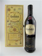 Sale 8411 - Lot 699 - 1x Glenfiddich 19YO Age of Discovery - Porto Santo & Madeira Single Malt Scotch Whisky - Madeira Cask Finish, 40% ABV, 700ml in gi...