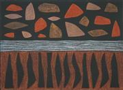 Sale 8492 - Lot 509 - John Coburn (1925 - 2006) - Windjana, 1998 42 x 55cm