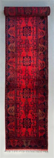 Sale 8499C - Lot 81 - Afghan Khal Mohamadi 500cm x 80cm