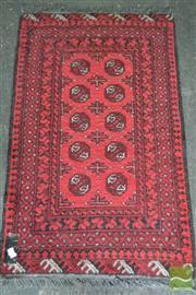 Sale 8515 - Lot 1015 - Cadrys Afghan Daulat - some losses (126 x 80cm)