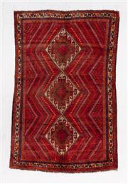 Sale 8780C - Lot 275 - A Persian Shiraz 100% Wool, 250 x 160cm