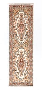 Sale 8790C - Lot 98 - A Very Fine Kashmiri Silk Pile, 311 x 93cm