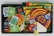 Sale 8410 - Lot 14 - Australian Patches with Various Vintage Boy Scout Patches