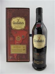 Sale 8411 - Lot 700 - 1x Glenfiddich 19YO Age of Discovery - The Voyage of HMS Beagle Single Malt Scotch Whisky - Red Wine Cask Finish, 40% ABV, 700ml i...