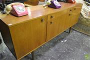 Sale 8287 - Lot 1085 - 1960s Teak Sideboard