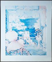 Sale 8414A - Lot 11 - Eva Hannah - Sydney Dreaming total frame size 102 x 86cm