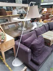 Sale 8637 - Lot 1092 - Modern Hanging Shade Floor Lamp